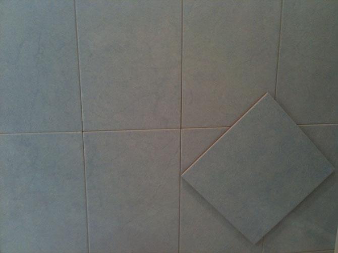 Carrelage et fa ence de la salle de bain commune et des - Choix du carrelage ...